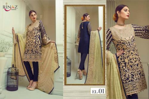 Rinaz Fashion Jazmin Vol-2 EL-01 wholesale Salwar Kameez catalog