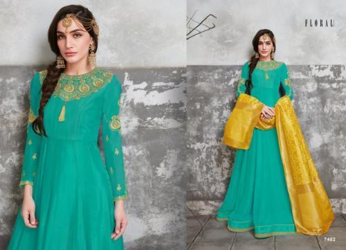 Jinaam Floral Hannah wholesale Salwar Kameez catalog