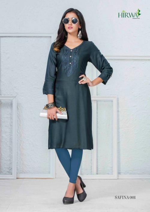 Hirwa Safina wholesale Kurti catalog