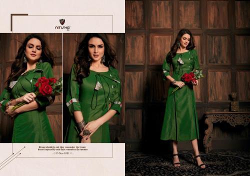 Nitisha NX Thai Silk wholesale Kurti catalog