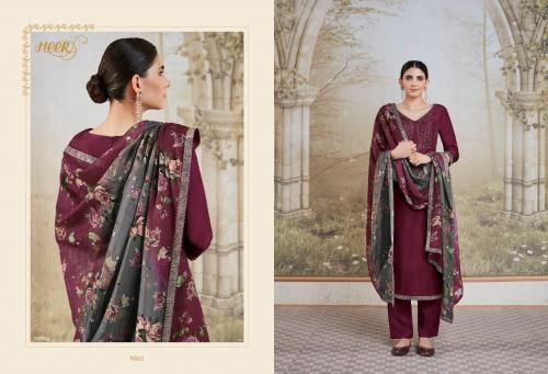 Kimora Fashion Heer Vol-55 Amira 9801-9807 Series