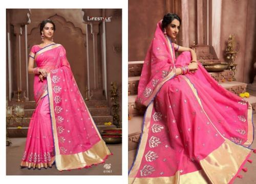 Lifestyle Saree Sudha Cotton wholesale saree catalog