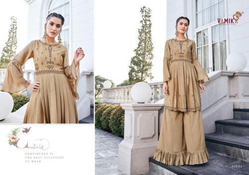 Arihant Fashion Vamika Chinon 11001-11006 Series