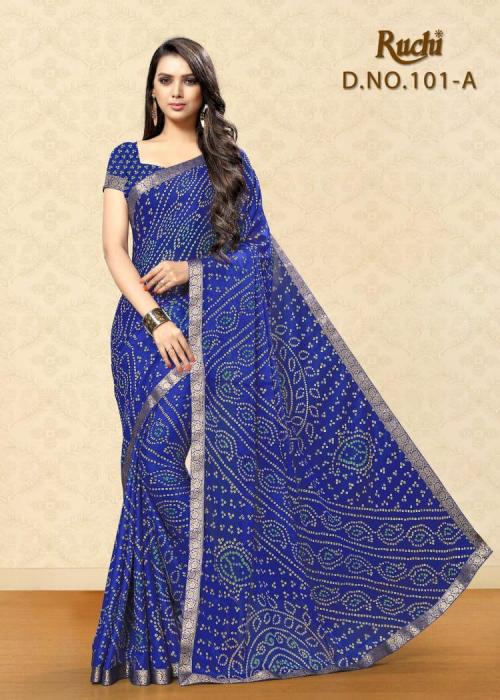 Ruchi Saree Jamkhudi Vol-1 wholesale saree catalog