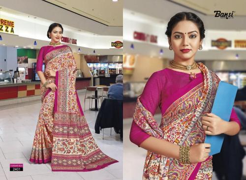 Bansi Tussar Silk Vol-13 wholesale saree catalog