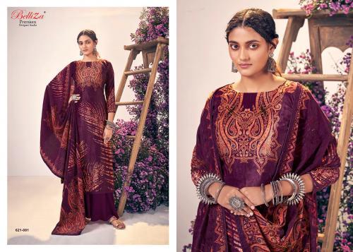 Belliza Designer Rangriti 621-001-621-008 Series