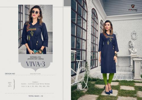Nitisha NX Viva-3 3001-3012 Series