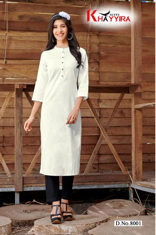 Khayyira Suits Saily wholesale Kurti catalog