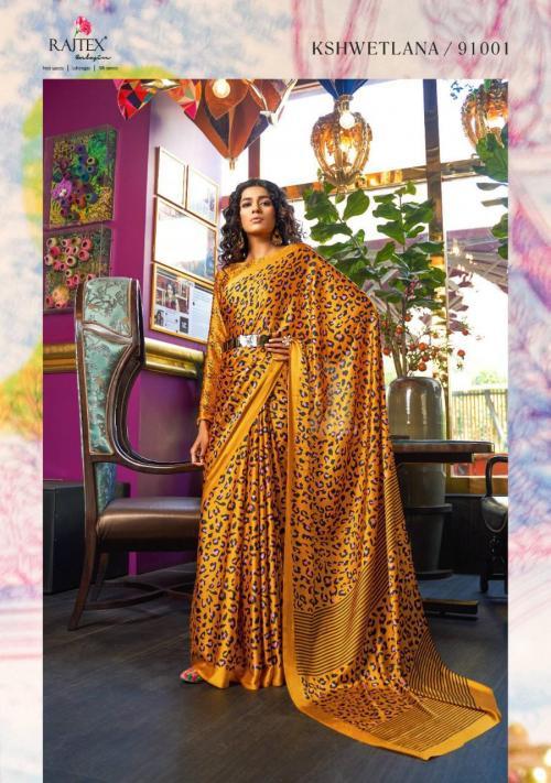 Rajtex Saree Kshwetlana wholesale saree catalog
