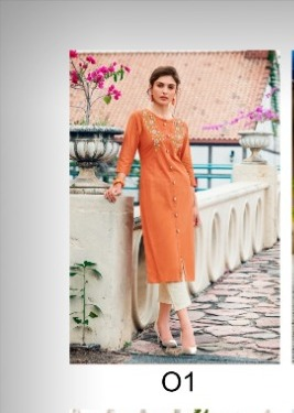 100 Miles Giza wholesale Kurti catalog