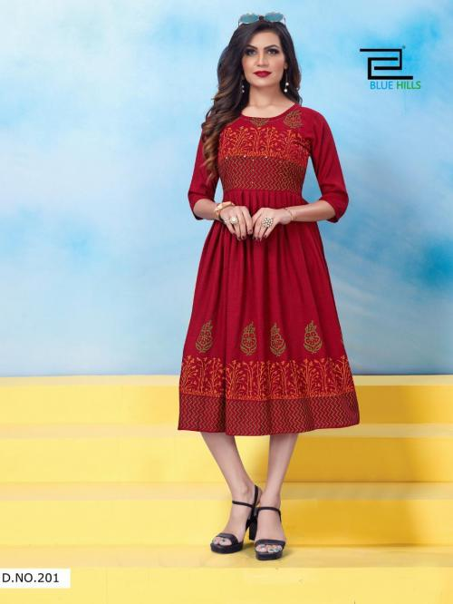 Blue Hills Trend  Vol-5 wholesale Kurti catalog