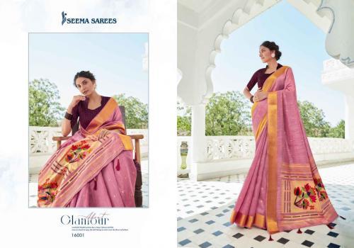 Seema Saree Safarnaama Vol-3 16001-16008 Series wholesale saree catalog