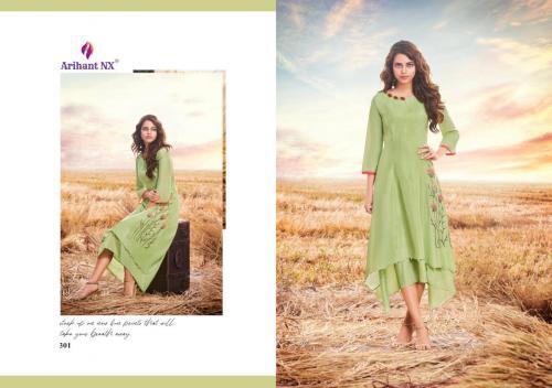 Arihant NX Vamika UP Stylish wholesale Kurti catalog