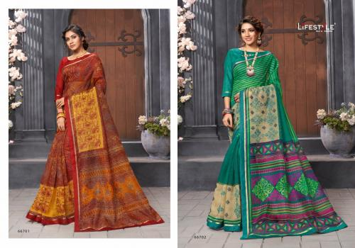 Lifestyle Katha Cotton Vol-18 wholesale saree catalog