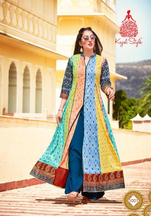 Kajal Style Zubeda Vol-1 wholesale Kurti catalog