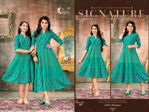 Kinti Fashion Ghoomar Vol-2 201-210 Series  wholesale Kurti catalog