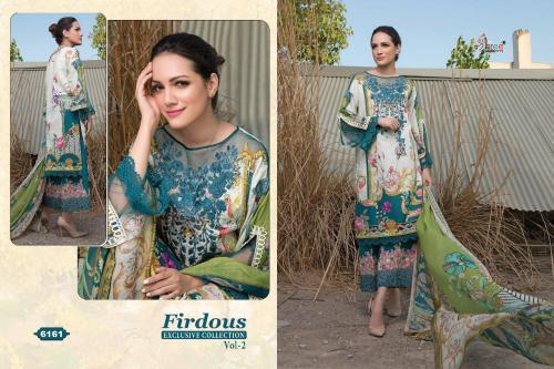 Shree Fabs Firdous Exclusive Collection Vol-2 wholesale Salwar Kameez catalog