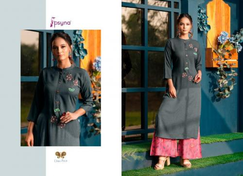Psyna Palazzo House Vol-8 wholesale Kurti catalog