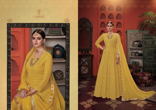 Sajawat Creation Meraki Vol-3 wholesale Salwar Kameez catalog
