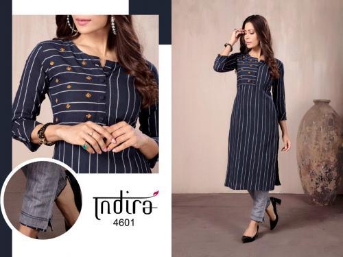 Indira Apparel In Line wholesale Kurti catalog