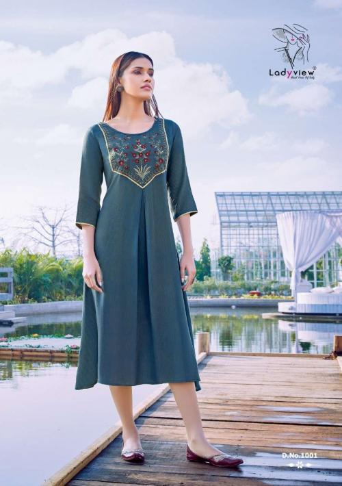 Lady View Mahek wholesale Kurti catalog