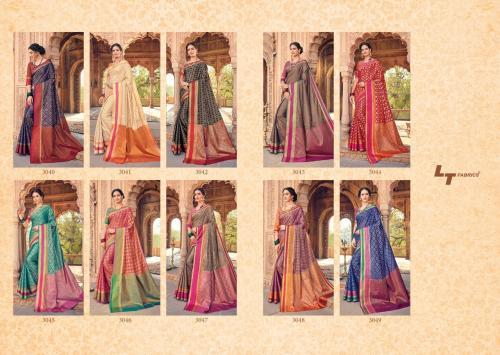 LT Fabrics Latika wholesale saree catalog