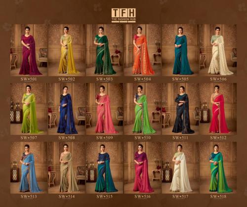 TFH Sandal Wood Issue 5 wholesale saree catalog