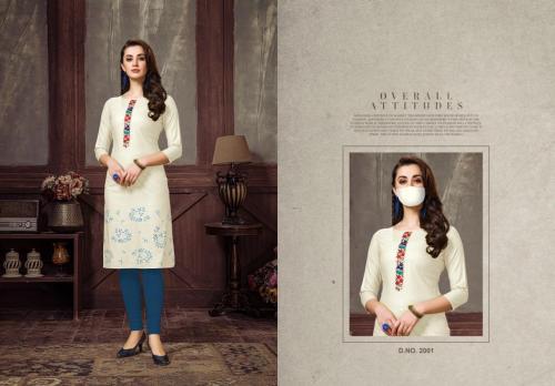 Nitisha NX Chingari Vol-2 wholesale Kurti catalog