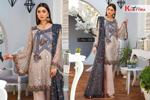 Khayyira Suits Maryam's Vol-6 Gold 1041-1045 Series