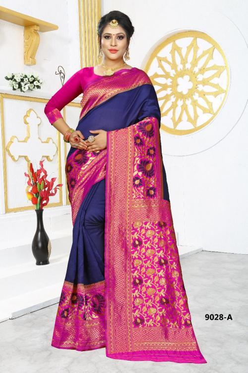 NP Saree 9028 Colors wholesale saree catalog