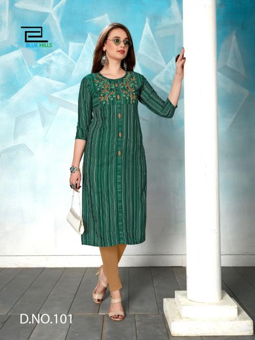 Blue Hills Chapaak wholesale Kurti catalog