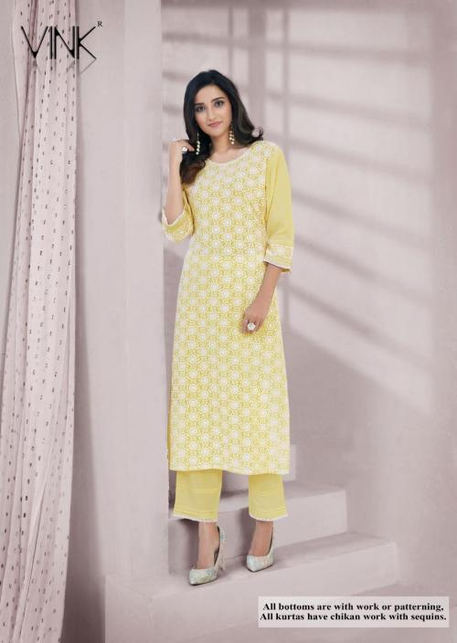 Vink Fashion Lucknowi Vol-2 wholesale Kurti catalog