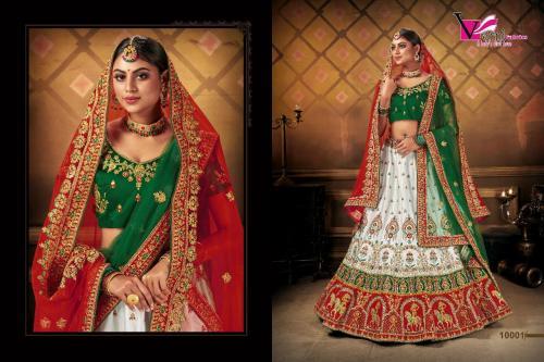 Varni Fabrics Zeeya Bridal Wedding Lehenga Vol-1 wholesale Lehengas catalog