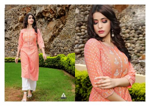 Yami Fashion Bunaai wholesale Kurti catalog