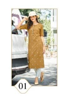 100 Miles Attire wholesale Kurti catalog