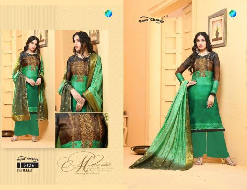 Your Choice Dehleej wholesale Salwar Kameez catalog