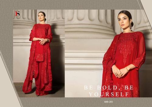 Deepsy Suits Honey Waqar 600-201 wholesale Salwar Kameez catalog