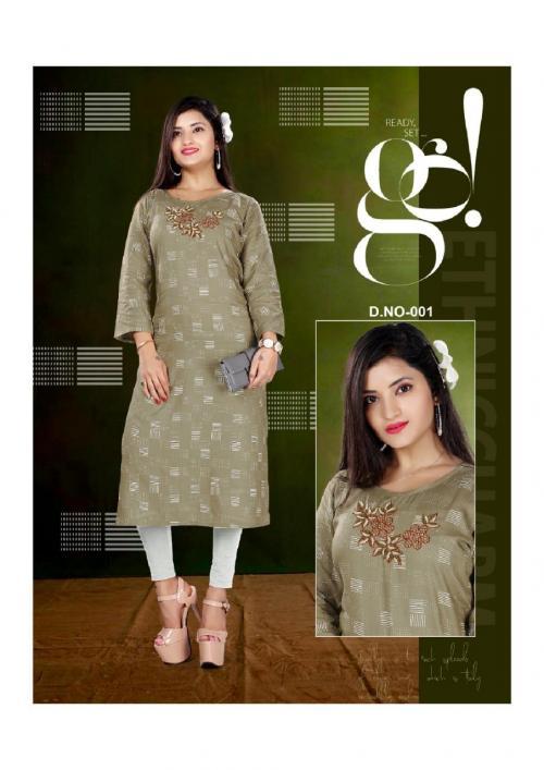 Trendy Nitya wholesale Kurti catalog