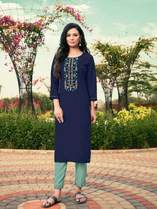 Vitara Fashion Rivanta wholesale Kurti catalog