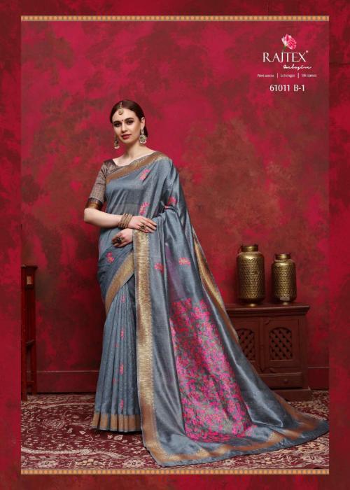 Rajtex Saree Kalika Silk 61011 B wholesale saree catalog