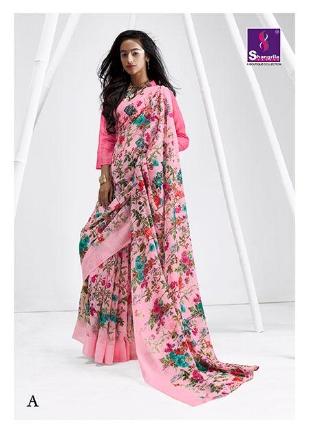 Shangrila Saree Simaya Cotton Vol-2 wholesale saree catalog