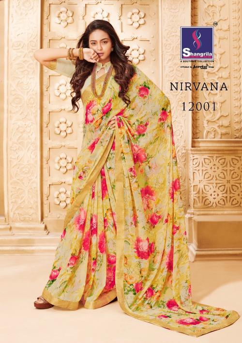 Shangrila Saree Nirvana wholesale saree catalog