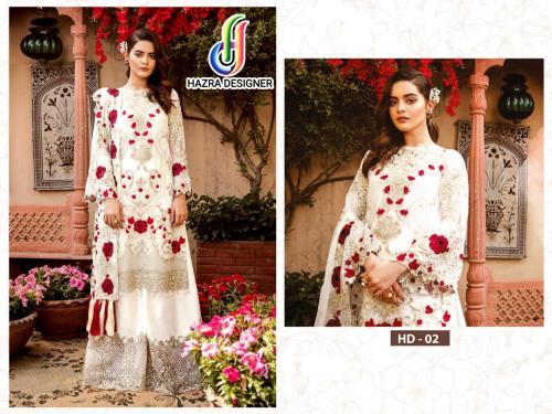 Hazra Designer wholesale Salwar Kameez catalog