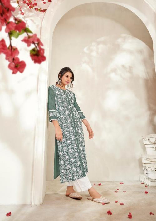 Vink Fashion Lucknowi Vol-3 wholesale Kurti catalog
