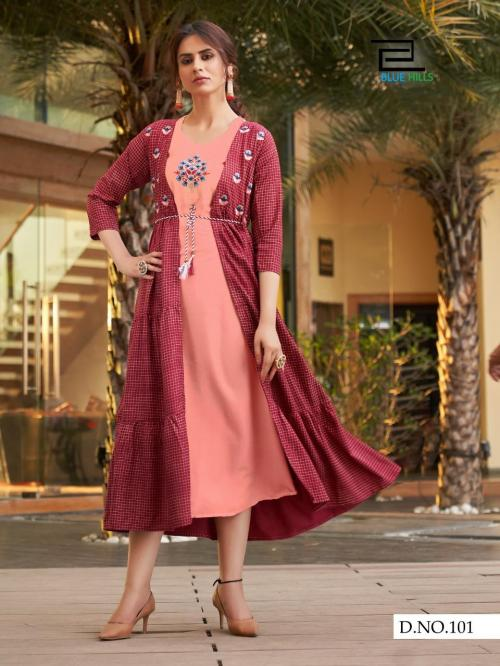 Blue Hills Festival Style Vol-1 wholesale Kurti catalog