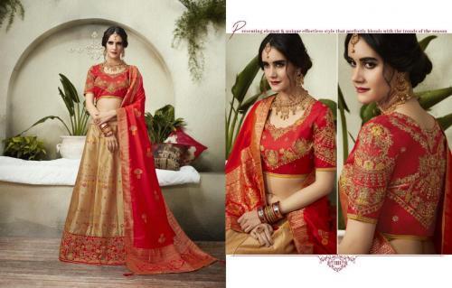 Kessi Fabrics Sparkle wholesale Lehengas catalog