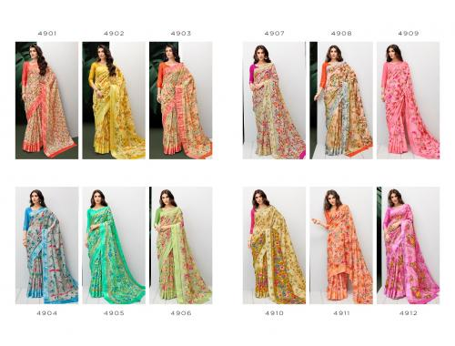 Shangrila Saree Rayesha Cotton wholesale saree catalog