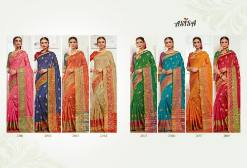 Asisa Saree Nirvana Vol-1 wholesale saree catalog