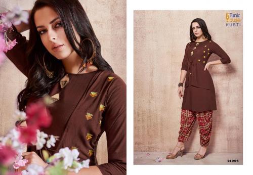 Tunic House Glorist With Dhoti wholesale Kurti catalog