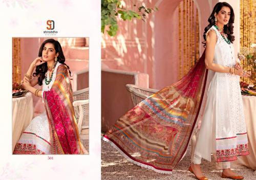 Shraddha Designer Noor Vol-5 501-504 Series  wholesale Salwar Kameez catalog